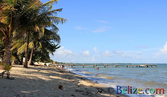 Beach southern Belize.