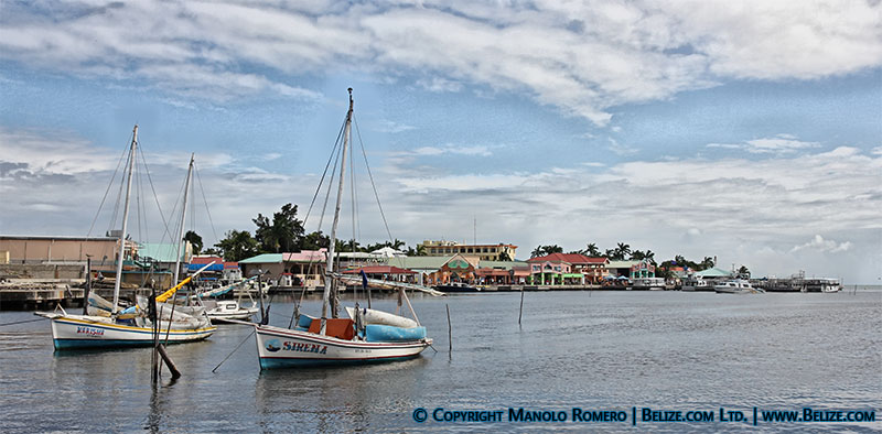 belize city seafront and tourism village