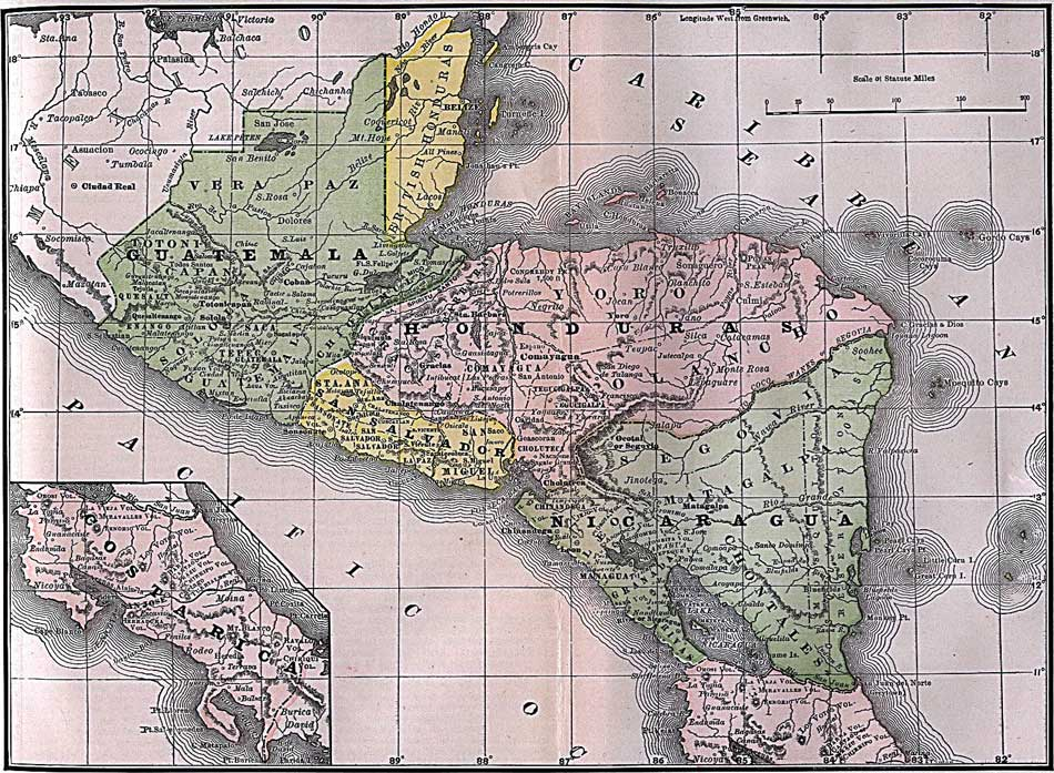 Belize Map – Free Maps of Belize and Central America – Tourist Map