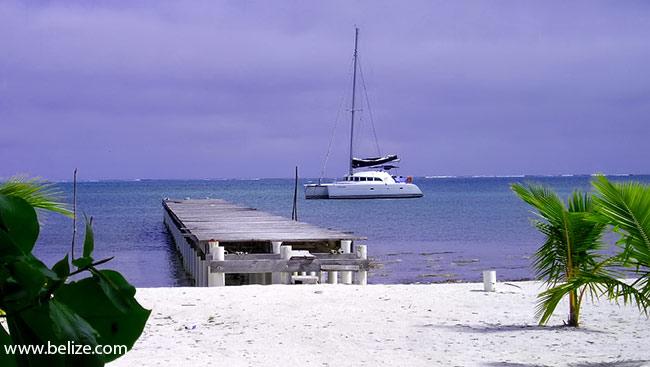 Caye Caulker Belize beach