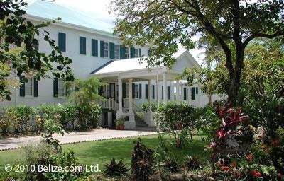 colonial building Belize City