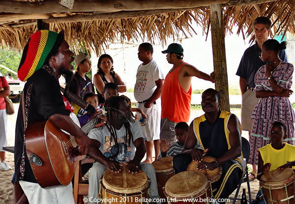 Music On The Beach - Hopkins, Belize