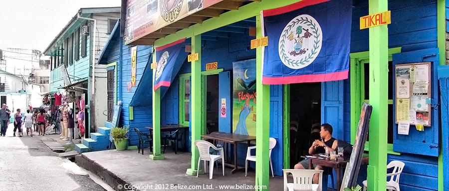 Tourist cafe san ignacio Belize