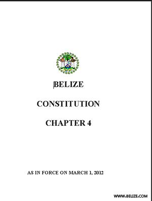 Constitution of Belize