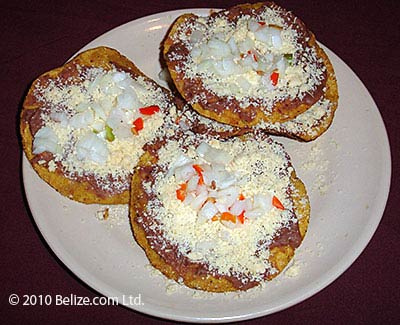 Belize fast food - garnaches