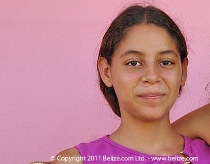 mestizo girl from the Yucatan