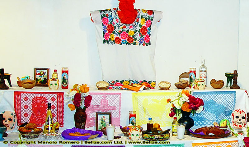 mestizo traditions altar of the dead