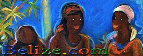 garifuna-women-grating-cassava-cayetano-painting