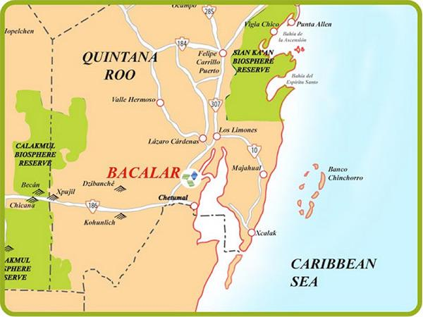 Beautiful Bacalar In Mexico S Quintana Roo Next To Belize